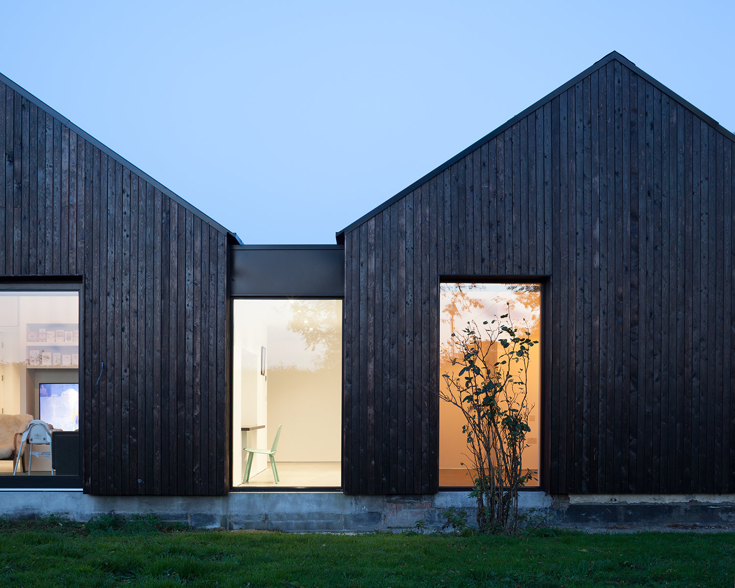 Blackened Timber House